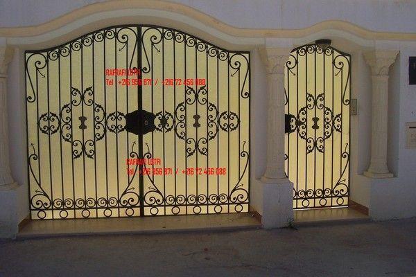 Fer forg tunisien for Portail fer forge tunisie
